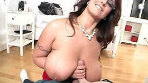 Eva Notty, Ball Licking, Big Cock, Big Natural Tits, Big Nipples, Big Tits
