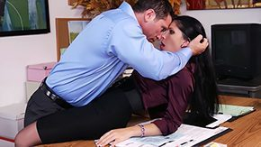 Rebeca Linares HD porn tube Terminating deal business playgirls co-workers heels fully dressed office chicks act of love desk secretaries hose 30yo facefucking brunette from behind penetrating tongue