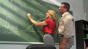 HD Lee Strong tube Blonde MILF pornstar Tanya Tate with big flavourful tits seduces her student in classroom This ardent hussy gets licked on table with joy sucks