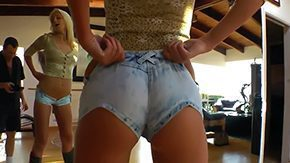 Shorts, Babe, Beauty, Bimbo, Blonde, Bombshell