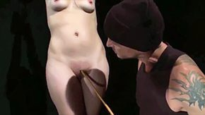 Clamps, Babe, Ball Licking, BDSM, Blindfolded, Blowjob