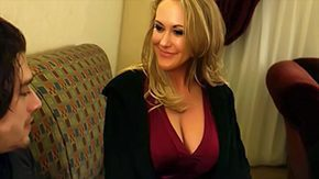 Motel, American, Aunt, Bed, Bedroom, Big Cock