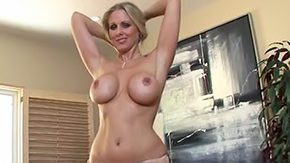 Julia Ann, Aunt, Big Tits, Blonde, Blowjob, Boobs