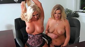 Free Katie Banks HD porn videos Blondes Katie Banks Molly Cavalli are playing bit with their curves they have some sapphic triumph along