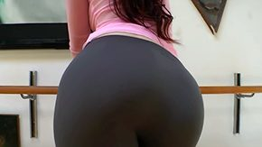 Aerobics, Aerobics, Ass, Aunt, Babe, Bend Over