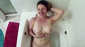 HD Chrissy Sanders tube Chrissy is Wet 20yo amateur shower room bathroom sucking off pair masturbation following door camera young