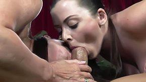 Sister, Ball Licking, Blowjob, Choking, Deepthroat, Double