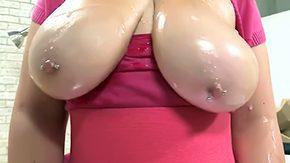 Boobs Oil, Ass, Ass Worship, Bend Over, Big Ass, Big Natural Tits