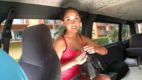 Honey Luau, Boobs, Bus, Car, Cash, Cute