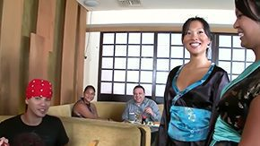 Sushi HD porn tube Two asian babes Asa Akira Tasha Lynn are ready to do soever to please their clients make them spent more cash betwixt sushi