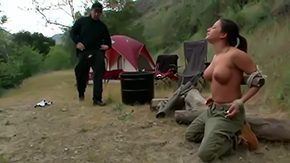 Karlo Karrera HD porn tube Abdl Charity Bangs is begging her boyfriend to tie up have his way with but instead he ties leaves at campsite where she stumbled upon by variety of perverted
