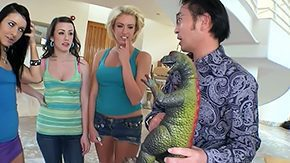 Asian HD tube Talk about Oriental guys favourable day Today on Fuck Duett Five Jennifer White Victoria Ashli Orion were riding along star search bus tours decided to seize off