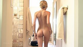Tall Teen, Amateur, Anorexic, Bath, Bathing, Bathroom