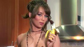 Capri Anderson, Banana, Boobs, Dildo, Flat Chested, High Definition