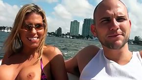 Charisma Cappelli, 3some, Anal, Assfucking, Ball Licking, Beach