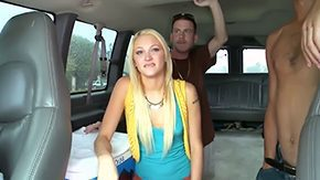 Free Tara Lee HD porn videos Tara Lee is total merely in thud bus along three horny hot males ready to smash her cunt