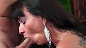 Mother, Aunt, Ball Licking, Barely Legal, Blowjob, Brunette