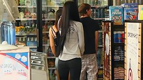 Couple, Amateur, Candid, Cash, Clothed, Comic