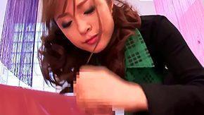 Free Japanese Handjob HD porn videos Dazzling young Pertaining to the Orient girl Mihiro swallowing bat getting smashed hand serving leotard chick ass licking nurumassage hand job tug jerking off hand serving handjob nuru