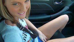 Carly Parker, Ball Licking, Blowjob, Car, Deepthroat, Double