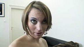 Drooling, Ball Licking, Banging, Big Tits, Blonde, Blowjob