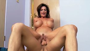 Stepmom, Aged, Aunt, Bed, Bend Over, Bimbo