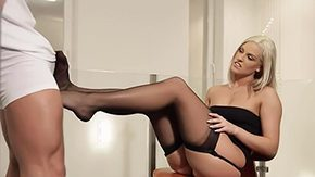 Footjob, Blonde, Feet, Fetish, Footjob, High Definition