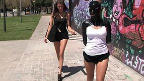 Free Public Disgrace HD porn videos Leyla Black gets disgraced in unrestricted domination fixation blame adhered bondage passon dom admirer humiliation europe east european outside park rubber