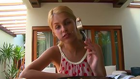Sasha Blond, Big Tits, Blonde, Blowjob, Boobs, Flat Chested