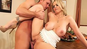 Mother's Friend, Blonde, Blowjob, Boyfriend, Clinic, Cougar