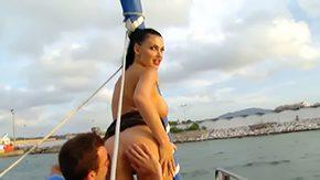 Aletta Ocean, Babe, Beach, Big Cock, Big Natural Tits, Big Nipples