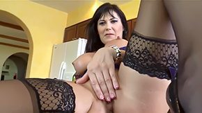 Mother, Aunt, Ball Licking, Big Cock, Big Tits, Blowjob