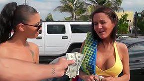Money Talks, Beach, Big Tits, Blowjob, Boobs, Brunette