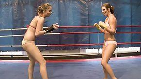 Wrestling, Adorable, Ass, Big Ass, Big Natural Tits, Big Tits