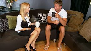 Free Kylie Knight HD porn Ms. Knight is mightily thankful of gesture american blond fucking housewife mom mini milf MILF mother skirt chaise 30yo babe reality sex