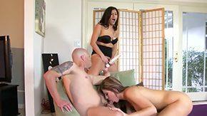 Scarlett Banks, Ball Licking, Big Cock, Big Tits, Blowjob, Boobs