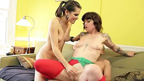 HD Vivian Delrio Sex Tube Psycho wild girlfriends Bobbi Starr Vivian Delrio called this guy to make their pussy male crushed hard