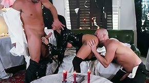Joslyn James, 3some, Aunt, Ball Licking, Bend Over, Blowjob