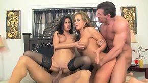 Nikki Sexx, 3some, 4some, American, Babe, Blowjob