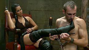 Facesitting, Boots, Brunette, Brutal, Domination, Dominatrix