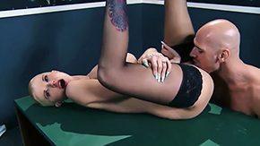 HD Joslyn James tube Bald someone Johnny Sins fucking raw his girlfriend Joslyn James is risque stockings