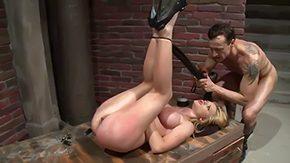 Natasha Brill, BDSM, Bitch, Blindfolded, Blowjob, Bound