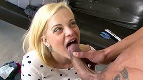 Stepdaughter, Ball Licking, Banging, Big Tits, Blonde, Blowjob