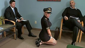 Stewardess, Backstage, Behind The Scenes, Bend Over, Big Tits, Boobs