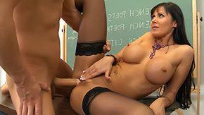 Office Stockings, Aunt, Big Ass, Big Cock, Big Tits, Boobs