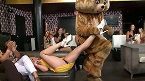 Dancing Bear, Amateur, Blonde, CFNM, Club, Funny