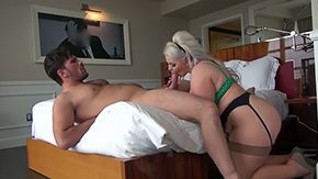 Klaudia Kelly, Babe, Ball Licking, BBW, Blonde, Blowjob