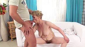 Maria, Aged, Aunt, Banging, Barely Legal, Bed