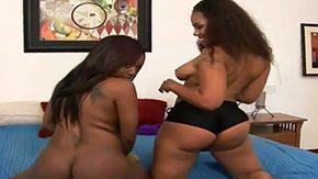 Ebony Lesbians, Ass, BBW, Big Areolas, Big Ass, Big Natural Tits