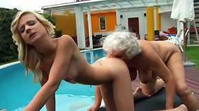 Granny Lesbian, Aged, Ass, Aunt, Babe, Blonde